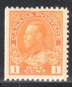 Canada  Mint XF NH #105d ADMIRAL
