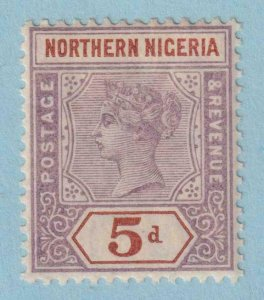 NORTH NIGERIA 5  MINT LIGHTLY HINGED OG * NO FAULTS VERY FINE!