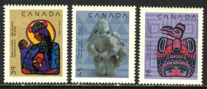 Canada; 1990: Sc. # 1294-1296: **/MNH Short Set