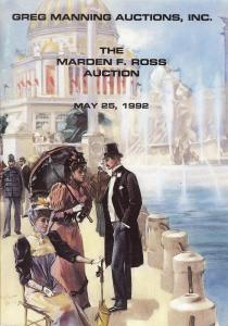 Manning:    The Marsden F. Ross Auction (2 parts), Greg M...