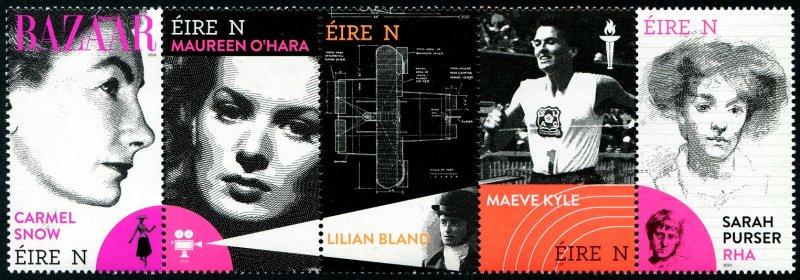 2020 Ireland Pioneering Irish Women S5 (Scott NA) MNH