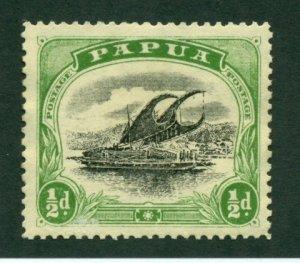 Papua 1910 #34 MNG SCV(2020) =$5.50
