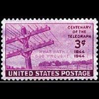 U.S.A. 1944 - Scott# 924 Telegraph Set of 1 NH