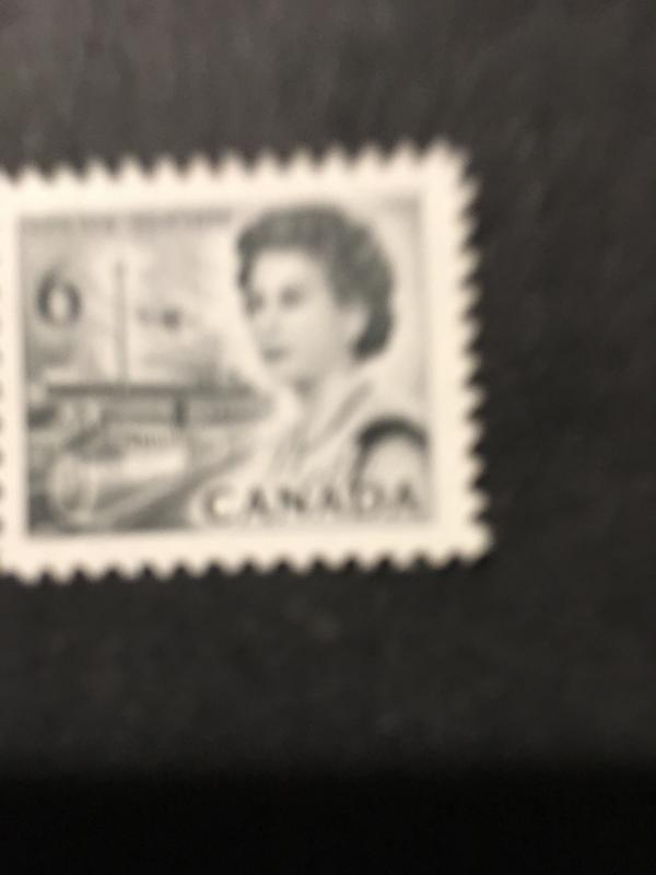 Canada 1970 6c Black Centennial Printed on Gum Scarce VF-NH USC #460Fi Cat. $25.