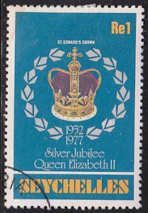 Seychelles 383 Silver Jubilee, QEII 1977