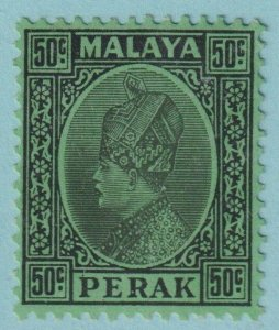 MALAYA PERAK 80  MINT HINGED OG *  NO FAULTS EXTRA FINE!