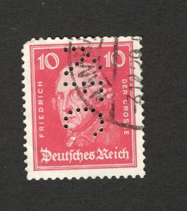 GERMANY -USED STAMP-PERFIN, PERFINS-1926.