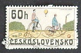 Czech Republic, Bicycle, Czechoslovakia, №1125-Т