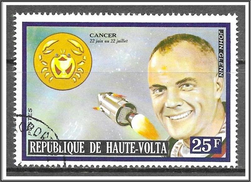 Upper Volta #314 Famous Men & Zodiac CTO NH