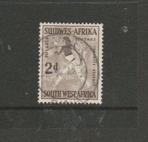 South West Africa 1960 Defs, Wmk 102, 2d Used SG 167