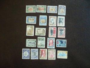Stamps - Cuba - Scott# 500-509,C79-C89 - Used Set of 21
