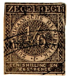 (I.B) Transvaal Revenue : Duty Stamp 1/6d (VR TRANSVAAL)