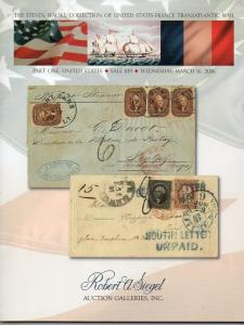 Siegal Auction of US & French Transatlantic Mail