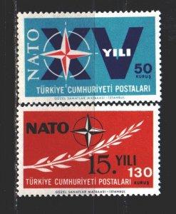 Turkey. 1964. 1899-1900. NATO. MNH.