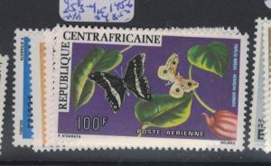 Central African Republic SC 853-4, C145-6 MNH (9dps)