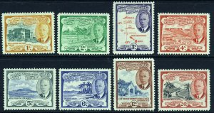 ST.CHRISTOPHER NEVIS & ANGUILLA KG VI 1952 Set to 24c. SG 94 to SG 101 MINT
