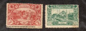 Turkey - Isfila # 872 & 873 / Sc# 549 & 550 Mint (creases) - Lot 0419035