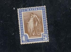 MALTA # 109-110 VF-MLH 1sh and 2sh CAT VALUE $24