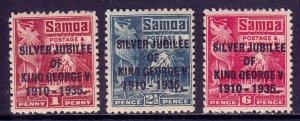 St. Lucia - Scott #91-94 - MH - Gum bumps, gum toning - SCV $16