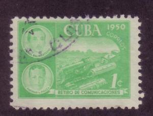 Cuba Sc. # 452 Used