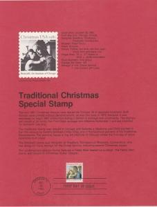 US SP567 Madonna and Child Souvenir Page #1939