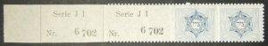 JNF/Jewish National Fund/KKL 1902 2nd issue stamp MNH 2nd printing Italy Kap-3