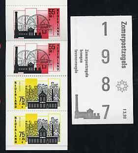 Booklet - Netherlands 1987 Welfare Funds - Industrial Bui...