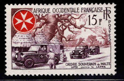 French West Africa Scott 74 MH* FOA stamp