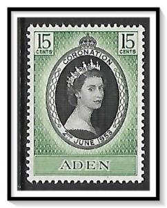 Aden #47 Coronation Issue MNH