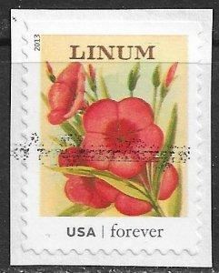 US ~ Scott # 4757 ~ Used on paper ~ Vintage Seed Packets
