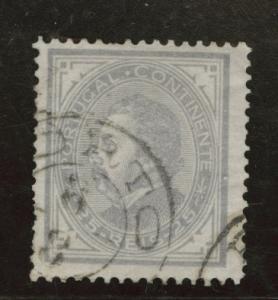 Portugal Scott 54 King Luiz perf 12.5 1880