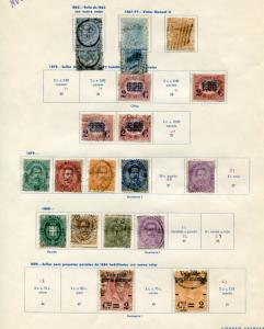 Italy  Used 2 page  collection of early stamps HICV