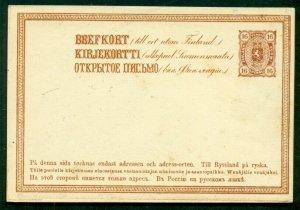 FINLAND Norma PK12 IV, 16pen postal card, unused, VF, Norma $29.00