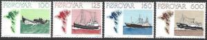 Faroe Islands #24-27 MNH Set of 4