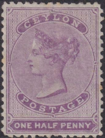 Ceylon 1863-1857 SC 45 Mint