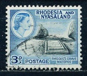 Rhodesia & Nyasaland #162 Single Used