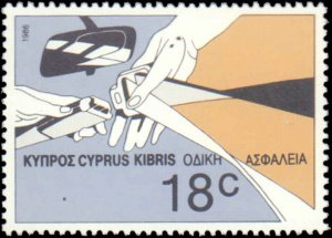 Cyprus #678-680, Complete Set(3), 1986, Never Hinged