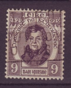 J20721 Jlstamps 1929 ireland hv of set used #82, 0,connell