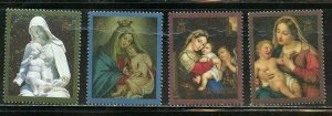ASCENSION ISLAND CHRISTMAS PAINTINGS SCOTT#498/501 MINT NH --SCOTT $11.10