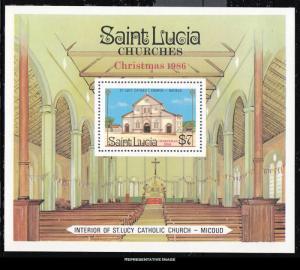 Saint Lucia Scott 871 Mint never hinged.