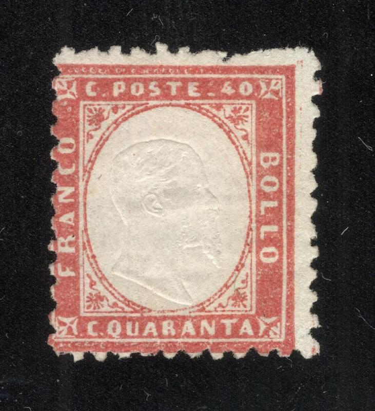 Italy #20 Red - Unused - No Gum
