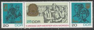 GERMANY DDR 963-5 MNH STRIP OF 3 [D3]-2