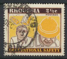 Rhodesia   SG 520   SC# 358  Used  Occupational Safety see details