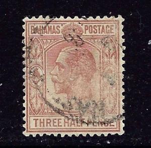 Bahamas 73 Used 1934 Issue    #3
