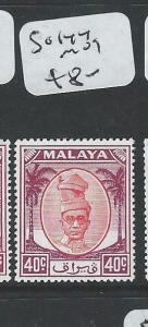 MALAYA PERAK (P1108B) 40C  SG144    MOG