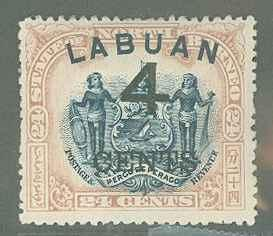Labuan 92a  Mint F-VF HR