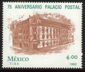 MEXICO 1266 75th Anniversary Postal Palace Mexico City MINT, NH. VF.