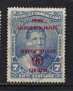 DOMINICAN REPUBLIC G1 VFU Z7895-3
