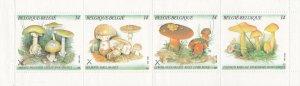 Belgium # 1414a, Mushrooms, Folded, NH, 1/2 Cat,