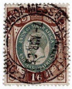 (I.B) South Africa Revenue : Duty Stamp 1/6d
